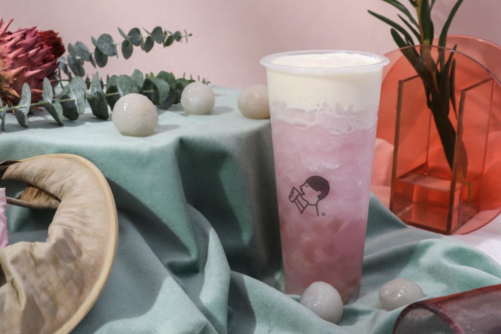 【香港喜茶】香港喜茶季節限定新品上市 清甜芝士奶蓋多肉粉荔