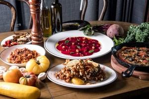 【中環素食】中環意大利餐廳Posto Pubblico推出全新素菜 純素意粉/酥炸金菇/紅菜頭薄片