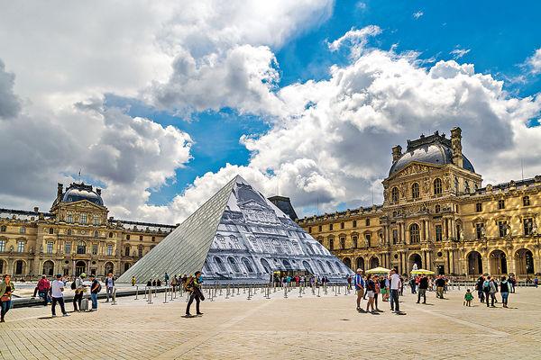巴黎羅浮宮#貝聿銘#訪問#光與影