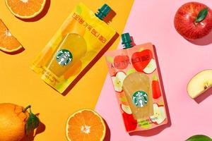 【韓國Starbucks 2019】韓國Starbucks夏日新品 酸甜蘋果/香橙果汁唧唧冰