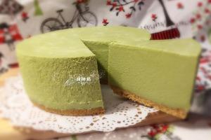 【蛋糕食譜】零失敗簡易免焗甜品食譜  抹茶芝士蛋糕