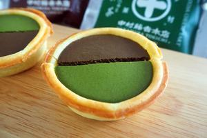 【芝士撻 香港】A-1 Bakery聯乘中村藤吉期間限定新甜品 超濃郁焙茶/抹茶芝士撻!