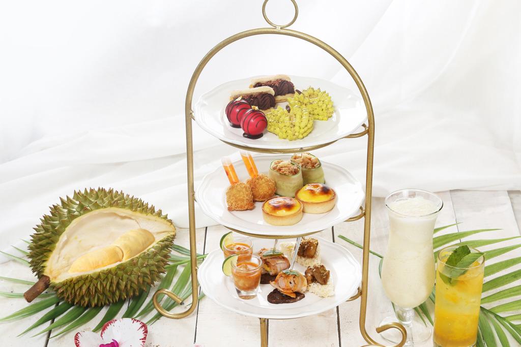 【沙田下午茶】沙田帝都酒店推泰式榴槤主題下午茶  榴槤芝士撻/榴槤蛋糕/榴槤奶昔