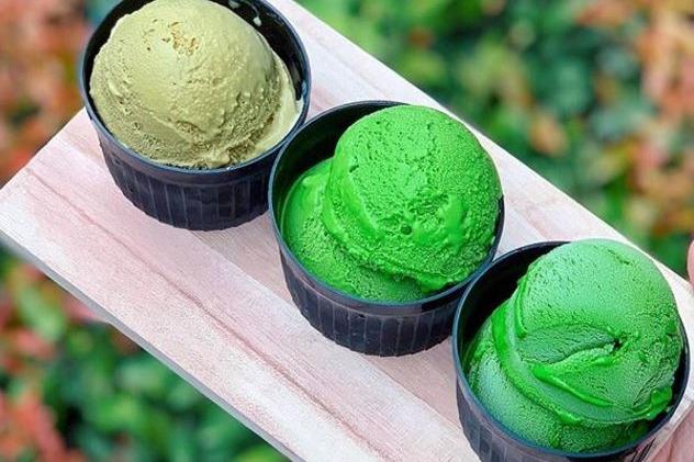 台北人氣咖啡店「Japan rail cafe」 熱賣號稱世界最濃抹茶雪糕