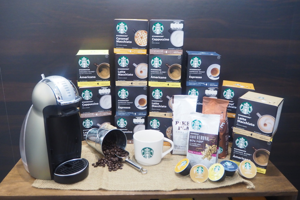 【Starbucks咖啡機】張敬軒都推介!星巴克咖啡5款口味Capsule新登場  美式咖啡/特濃咖啡/泡沫咖啡/奶泡咖啡/焦糖咖啡
