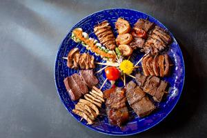 【銅鑼灣美食】全港首間日式牛串燒專門店登陸銅鑼灣 即叫即燒26款刁鑽部位/牛內臟+超過80款口味特色燒酎