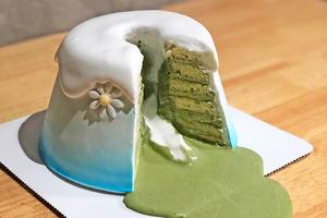 【觀塘美食2021】觀塘工廈90後藍帶廚師主理Cafe「Call Me Chef」 爆漿流心珍珠奶茶奶蓋戚風蛋糕/富士山蛋糕/抹茶千層蛋糕