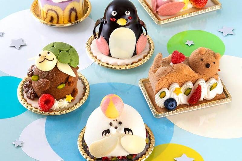 【日本手信】日本年輪蛋糕店Juchheim推「夏日水族館」系列蛋糕 小海豹/海獺/海豚等6款可愛動物造型