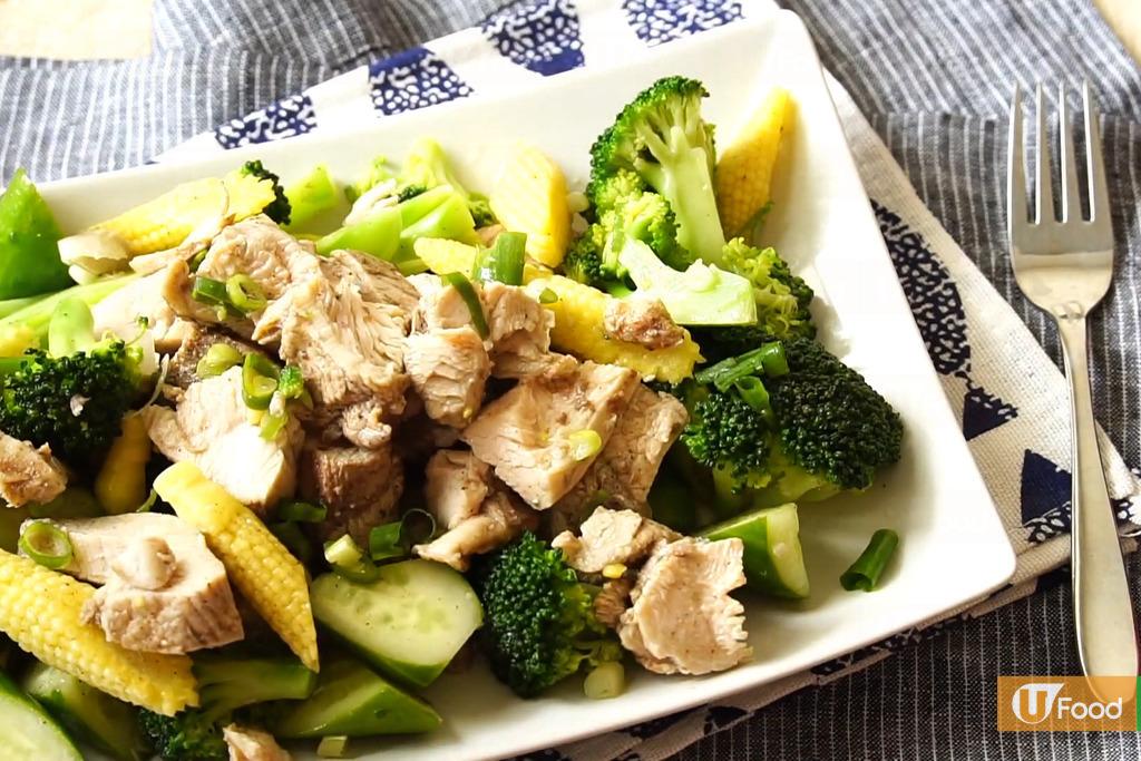【減肥食譜】夏日清爽開胃高蛋白料理 自製簡易鹽水雞