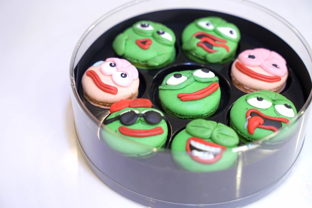 【荔枝角烘焙店】離地鐵站只需1分鐘!荔枝角1800呎烘焙店推Pepe青蛙甜品班  Pepe馬卡龍/戚風蛋糕/水泡蛋糕