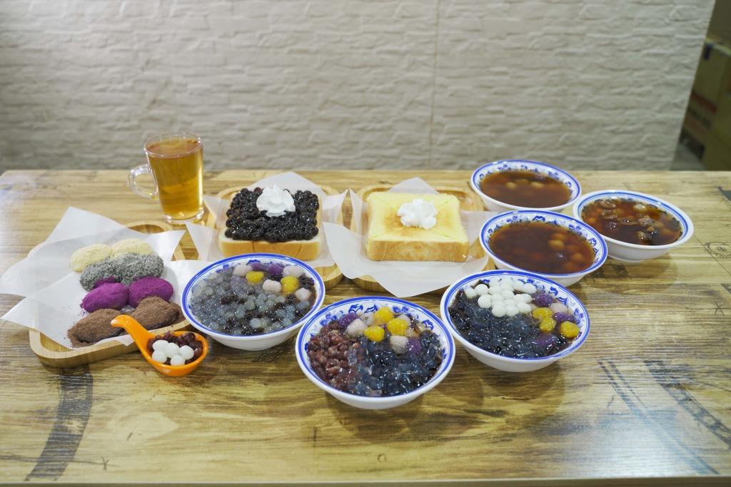 【元朗美食】元朗羅東肉焿番$48台式甜品放題  仙草芋圓/燒麻糬/厚吐司/芋泥三文治