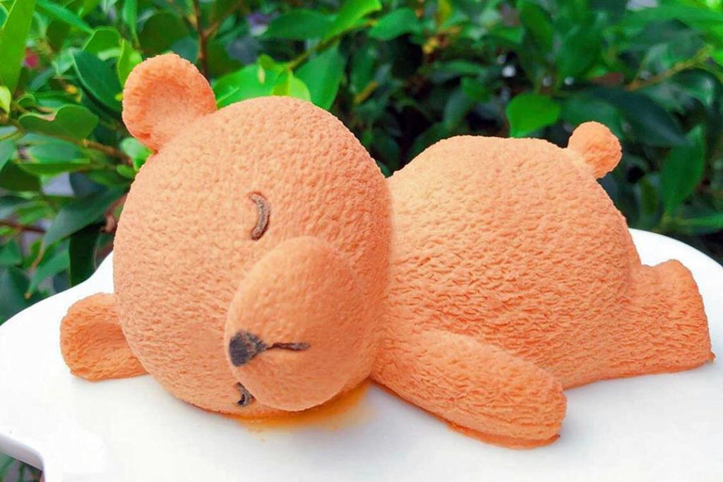 【台灣甜品2019】台灣甜品店可愛動物造型蛋糕 懶瞓小熊/肥嘟嘟發呆海豹蛋糕