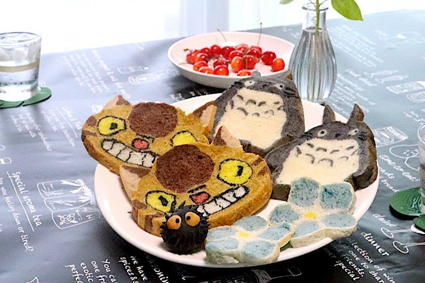 【日本美食】日本烘焙達人創作超神似卡通手工麵包  小熊維尼/比卡超/米奇老鼠/龍貓/鬆弛熊