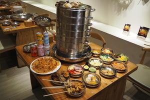 【紅磡美食】黃埔韓式海鮮蒸鍋九重鮮新出半自助餐  $288食9層海鮮塔+任食韓式炸雞/料理/甜品沙律