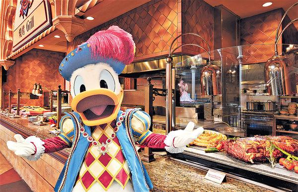 香港迪士尼多重活動 賀唐老鴨85歲生日