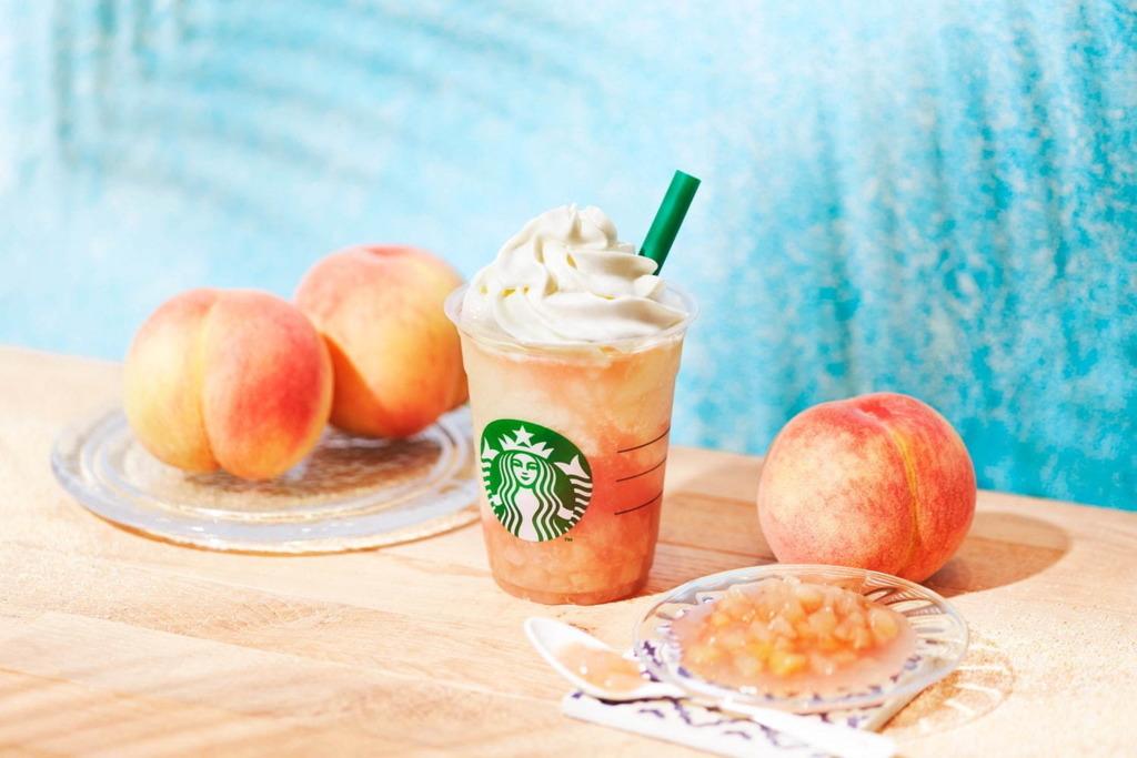 日本Starbucks推出夏日期間限定 水蜜桃星冰樂回歸!