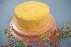 【榴槤蛋糕 香港】夏日限定足料榴槤芝士蛋糕 每個蛋糕足足用上半個貓山王!