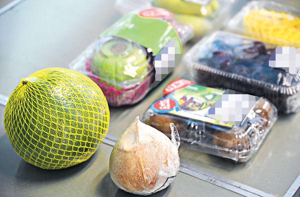 超市蔬果包裝過多 環團籲減膠