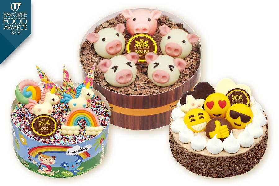 龍島美食店 皇牌3D朱古力蛋糕吸睛之選