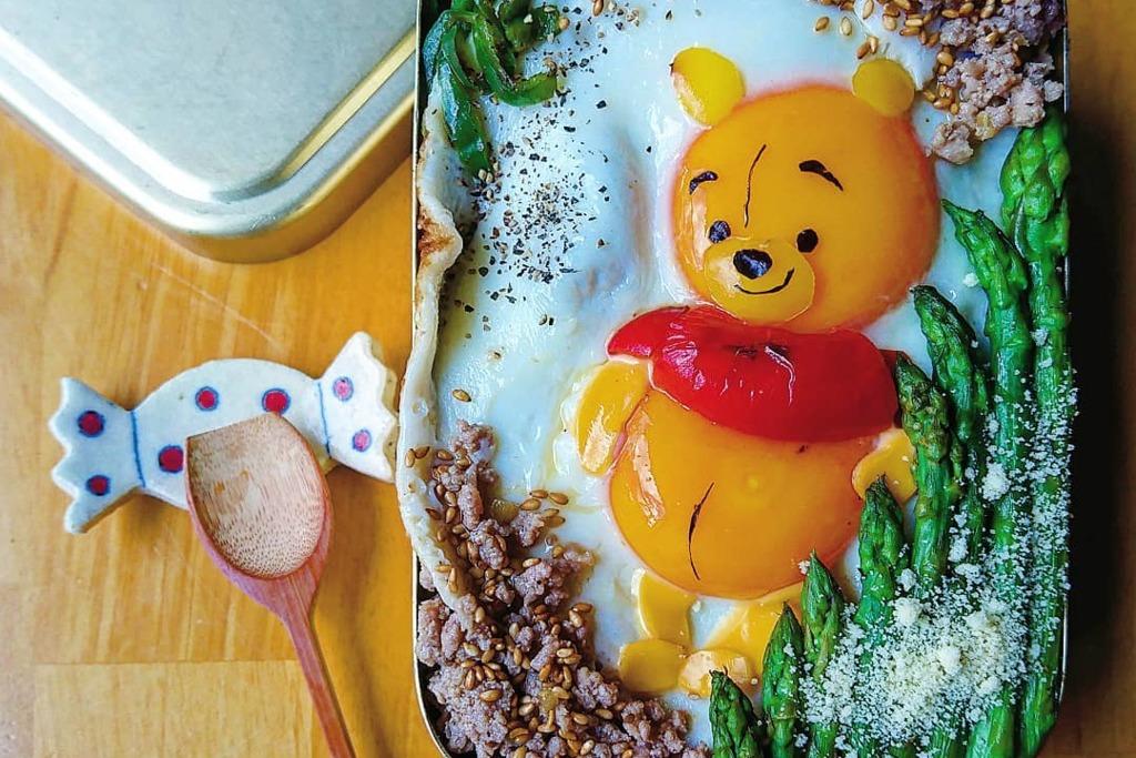 【日本美食】非一般太陽蛋!日本媽媽製作超可愛卡通雞蛋料理  小熊維尼/小丸子/Minions/比卡超便當