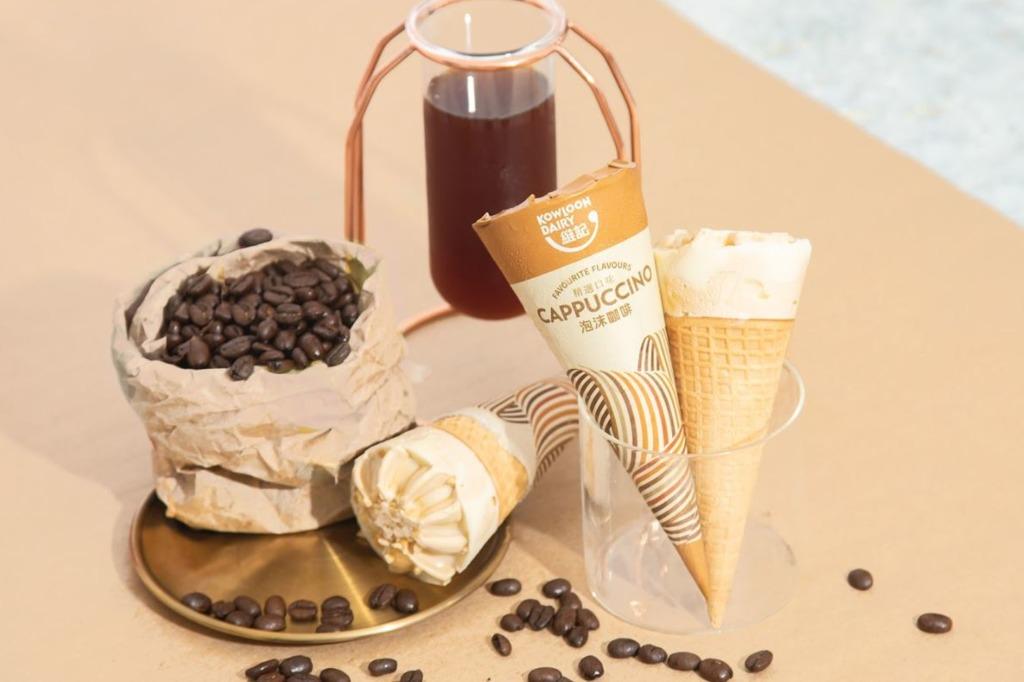 Cappuccino雪糕甜筒