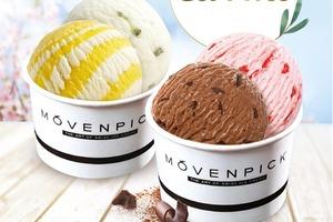 【甜品優惠】MÖVENPICK雪糕專門店推出限時優惠  雙球雪糕杯買一送一優惠