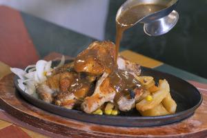 【元朗美食】元朗人氣港式扒房「王子餐廳」 多款性價比高傳統鐵板餐