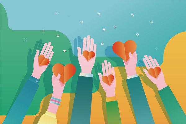放下仇恨擁抱善良 用正能量重建香港