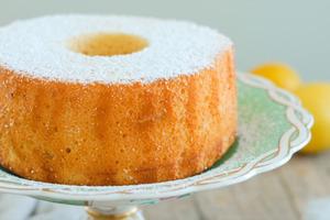 【蛋糕食譜】夏日清新簡易蛋糕食譜  檸檬戚風蛋糕
