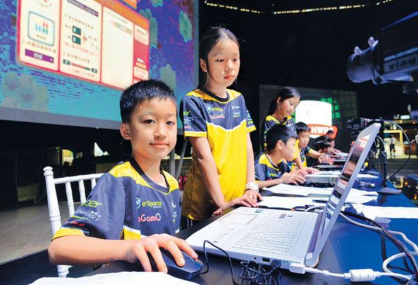 學術性電競比賽 善用遊戲平台教學