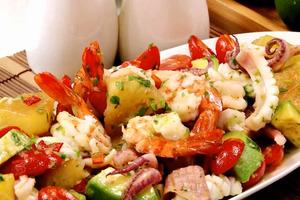 【涼拌食譜】夏天開胃涼拌食譜 涼拌海鮮沙律