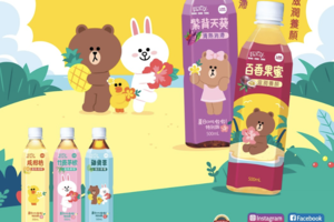 【鴻福堂】鴻福堂與LINE FRIENDS合作 推出多款飲品全新包裝