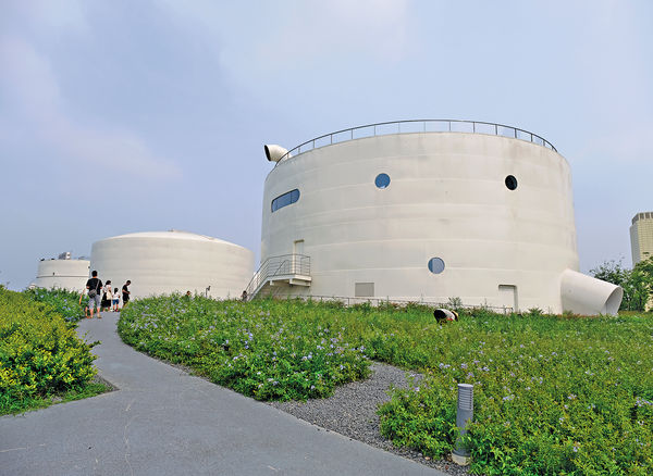 上海打卡新地標 航空油罐變藝術館