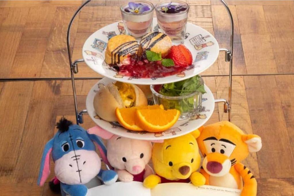 【東京Cafe 2019/Winnie The Pooh】日本東京期間限定小熊維尼Cafe 走進百畝森林世界同小豬跳跳虎食蜂蜜熱香餅
