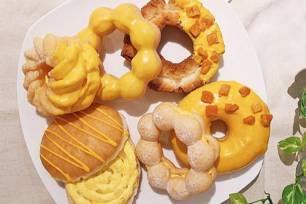 【台灣美食2019】台灣Mister Donut夏日新口味 愛文芒果冬甩/甜甜圈/沙冰