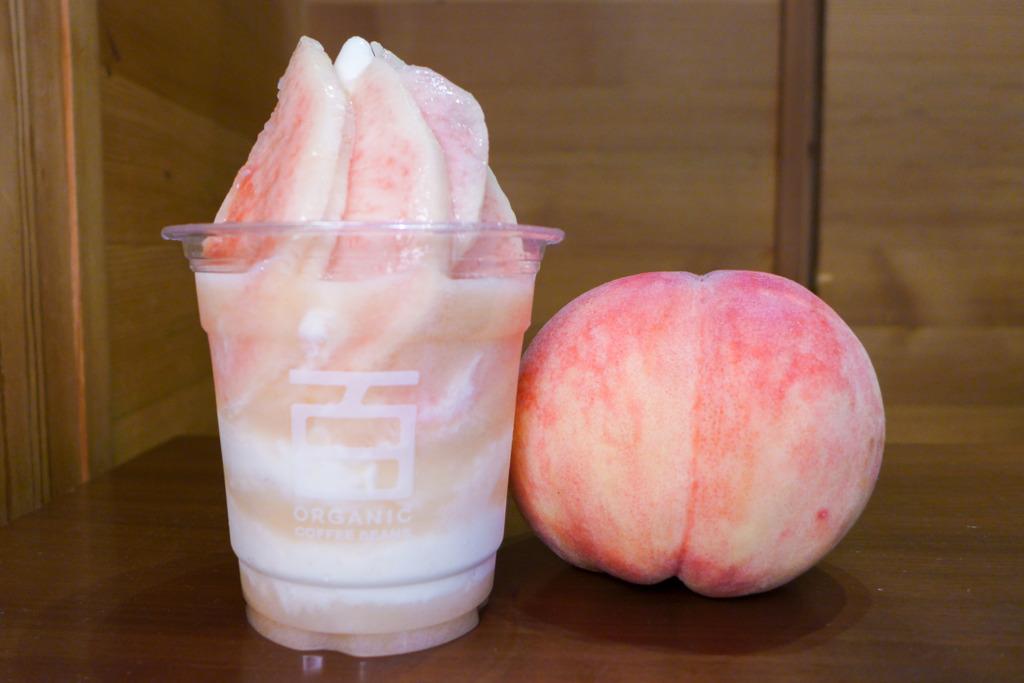 日本山梨縣白桃牛奶雪糕