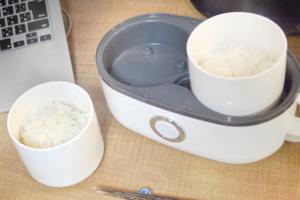 【廚具用品】打工仔恩物!Lunch Time免排隊  日本一人蒸氣加熱飯盒  仲可以煲新鮮白飯