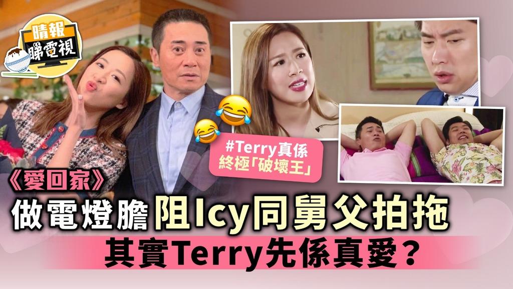 《愛回家》做電燈膽阻Icy同舅父拍拖 其實Terry先係真愛?