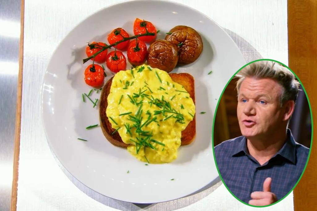 【炒滑蛋秘訣/炒蛋食譜】廚神Gordon Ramsay教你3分鐘煮出嫩滑炒蛋 來回離火攪拌+秘密調味料?!