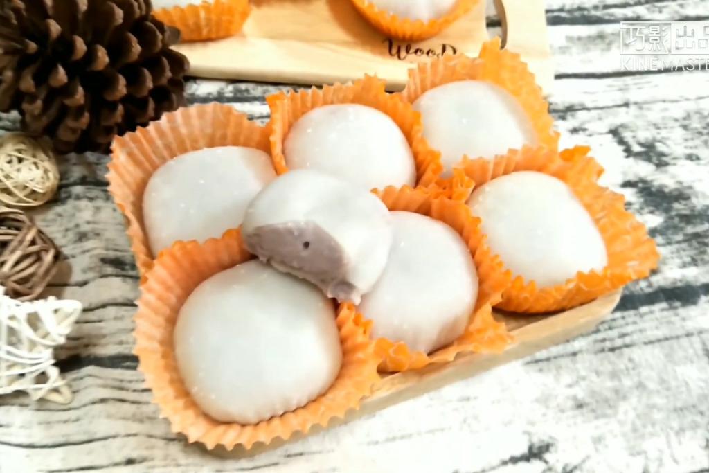 【甜品食譜】3步自製煙韌甜品 香甜煙韌芋泥糯米糍