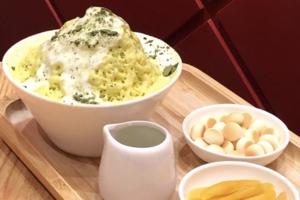 【銅鑼灣美食】銅鑼灣ChaTraMue新推出抹茶榴槤飄雪 入口即溶榴槤味刨冰+香濃抹茶醬