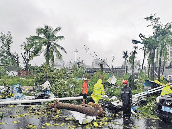 龍捲風襲海南儋州 8死2傷