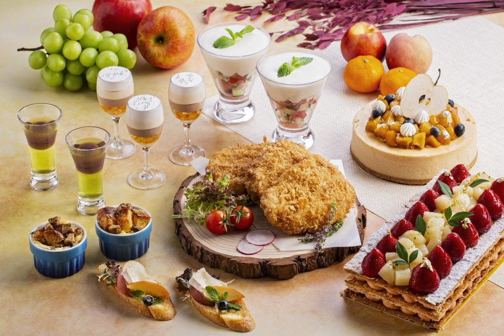 【旺角下午茶】旺角帝京酒店推日本水果甜品下午茶自助餐 香印慕絲蛋糕/草莓白桃千層酥/焦糖蘋果芝士蛋糕