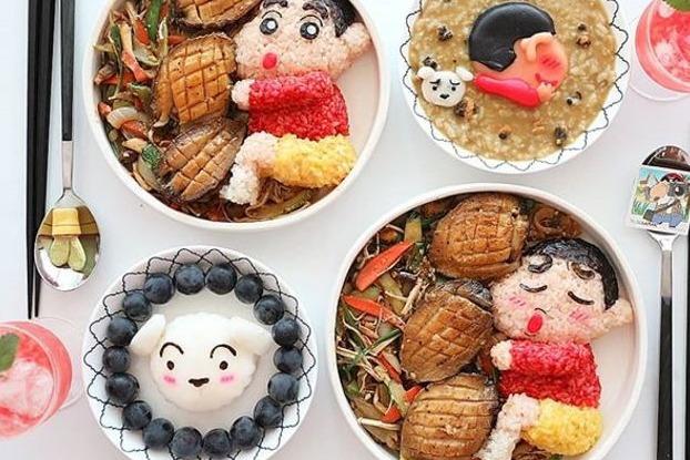 韓國網民自製超精緻卡通便當 小熊維尼/蠟筆小新/Kakao/Apeach多款造型