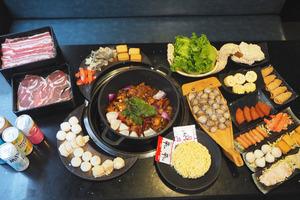 【旺角美食】旺角回到味來新出$148火鍋放題 自選雞煲卜卜蜆煲/任食海鮮串燒、台式飲品