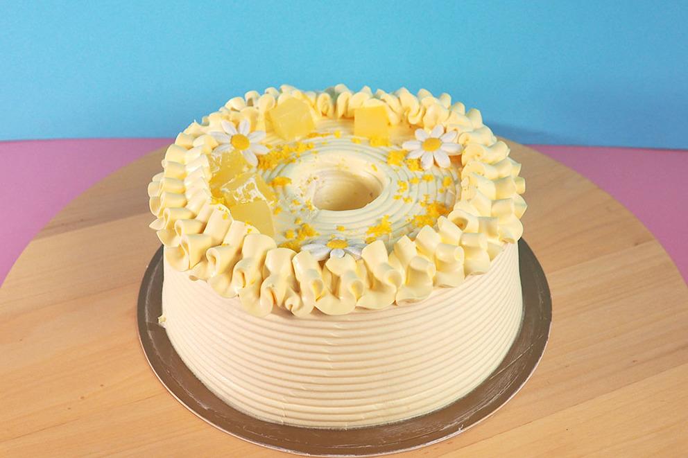 【美心蛋糕】美心西餅推出全新口味天使蛋糕  柚子天使蛋糕