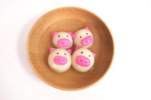 【湯圓食譜】肥嘟嘟超可愛! 簡易自家製粉紅豬仔湯圓