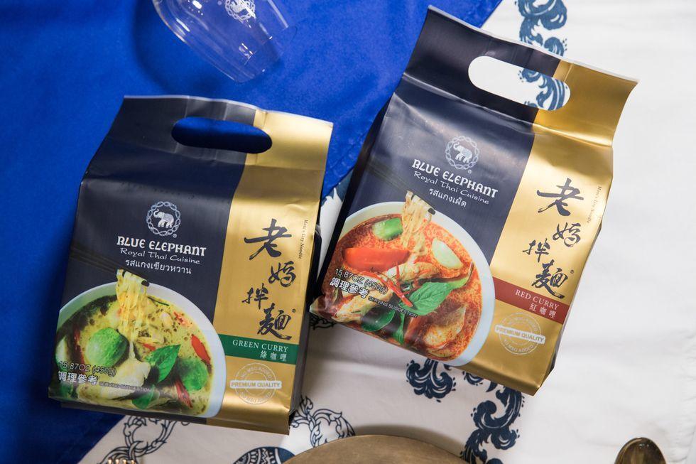 【老媽拌麵香港】一田獨家發售老媽拌麵新口味 泰國米芝蓮藍象調配全新咖哩拌麵