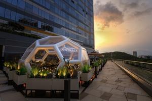 【東涌美食】全港首間Outback巨型泡泡屋進駐東涌 3000呎戶外平台花園/文青露營風設計