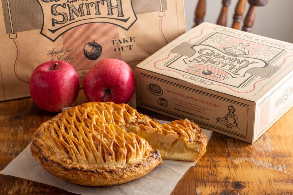 日本蘋果批專門店「GRANNY SMITH」登陸香港 主打多款傳統口味蘋果批